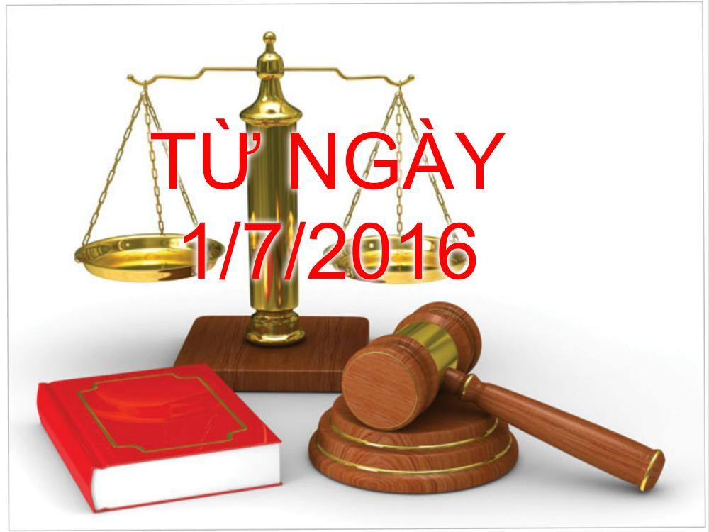 Từ ngày 01/07/2016, chậm nộp thuế - tính lãi 0,03%/ngày