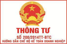 Danh mục hệ thống tài khoản theo thông tư 200/2014/TT-BTC mới nhất