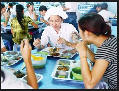 Tăng mức phụ cấp tiền ăn trưa, ăn ca năm 2017