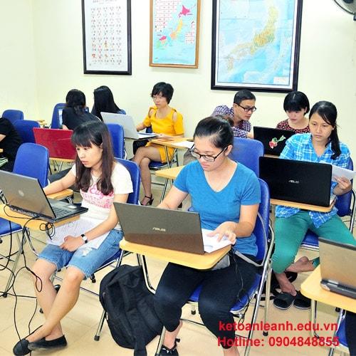 Trung tâm đào tạo kế toán thực hành uy tín ở Hà Nội, tp Hồ Chí Minh