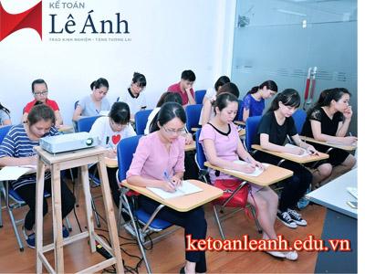 Tìm khóa học kế toán tổng hợp tại TP Hồ Chí Minh