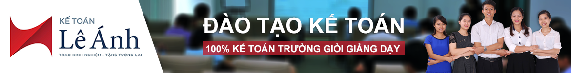 Kế toán Lê Ánh | Trao kinh nghiệm - Tặng tương lai