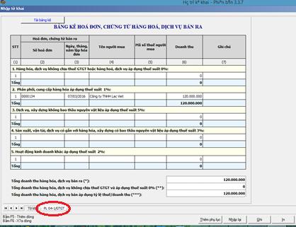 Hướng dẫn kê khai thuế GTGT theo phương pháp trực tiếp