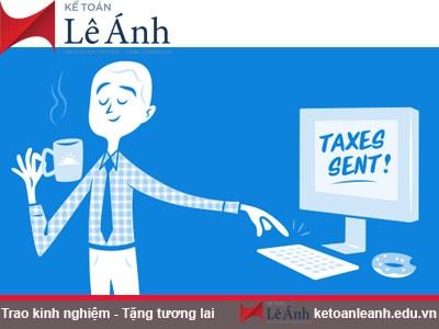 Hướng dẫn kê khai thuế thu nhập cá nhân theo quý hoặc theo tháng