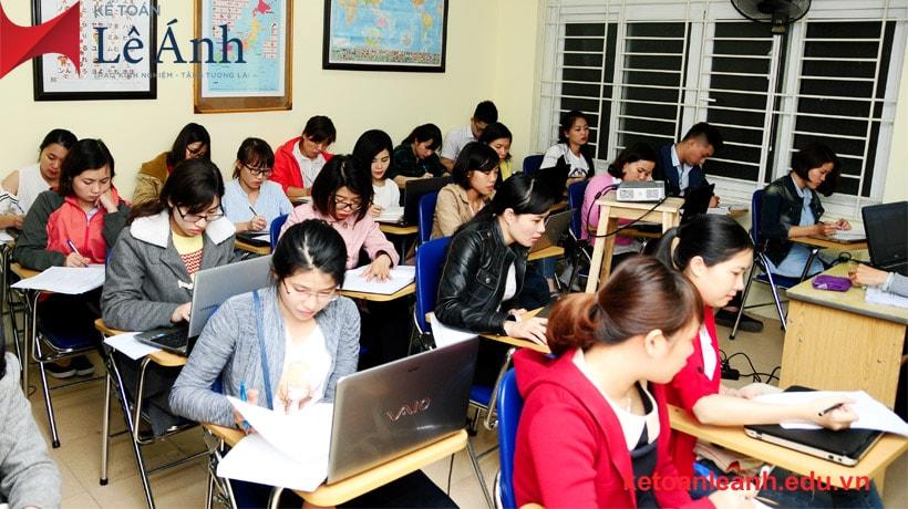 địa chỉ học kế toán thực hành tại Hà Nội