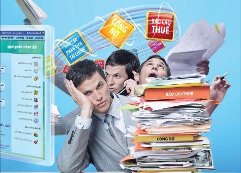 hồ sơ lập thủ tục hủy tài liệu kế toán