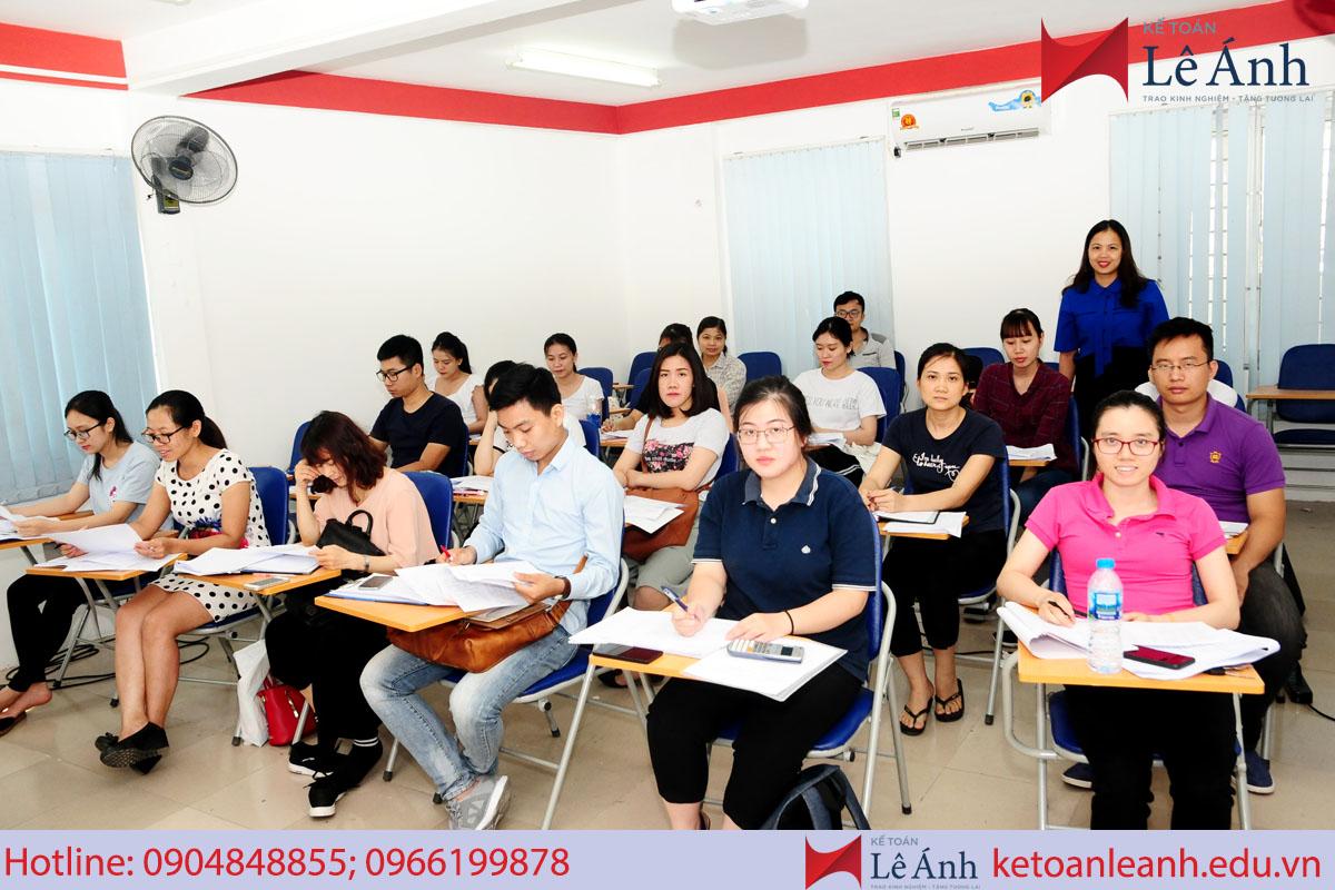Học kế toán tổng hợp quận 3 tphcm