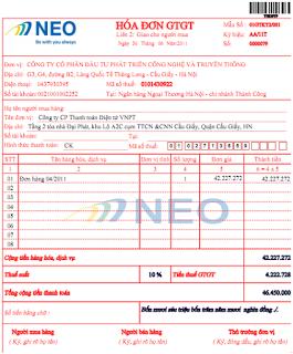 Hướng dẫn chi tiết cách viết hóa đơn Giá trị gia tăng