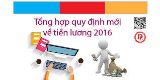Các quy định về lương và khoản trích theo lương mới nhất 2016