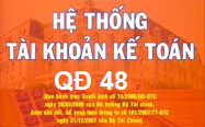Danh mục hệ thống tài khoản theo quyết định 48/2006/QĐ-BTC