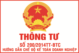Danh mục hệ thống tài khoản theo thông tư 200/2014/TT-BTC mới nhất