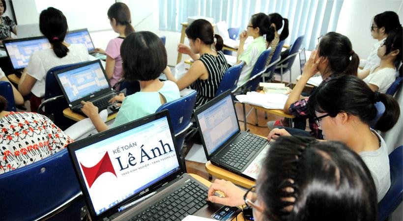 Trung tâm dạy kế toán thực hành ở Hà Nội
