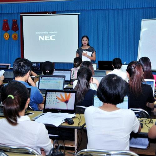 Trung tâm dạy học kế toán thực hành ở Cầu Giấy