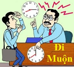 Trừ lương nhân viên do đi làm muộn là sai luật