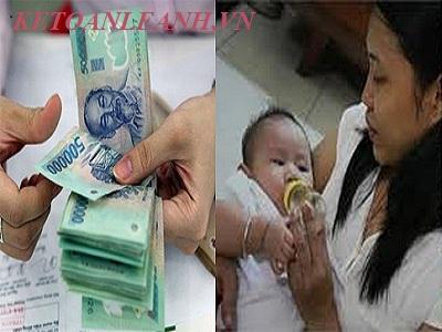 Điều chỉnh tăng trợ cấp thai sản áp dụng từ ngày 01/07/2017