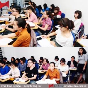 Lớp học kế toán thực hành ở tphcm
