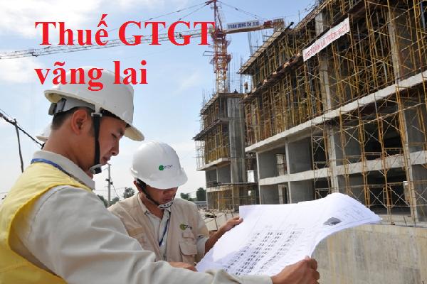 Kê khai thuế GTGT vãng lai ngoại tỉnh