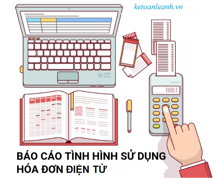Các bước lập báo cáo tình hình sử dụng hóa đơn điện tử trên phần mềm HTKK