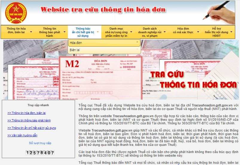 Hướng dẫn tra cứu hóa đơn điện tử hợp pháp